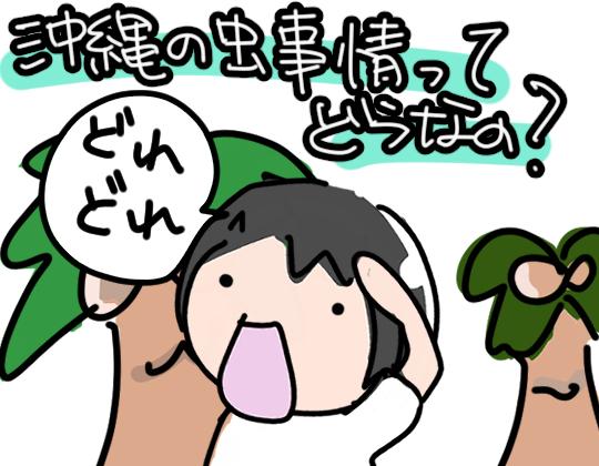沖縄の虫事情について
