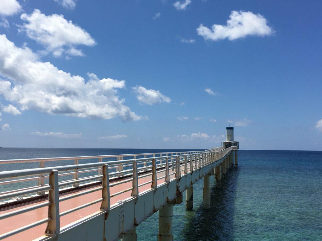 展望塔までの橋